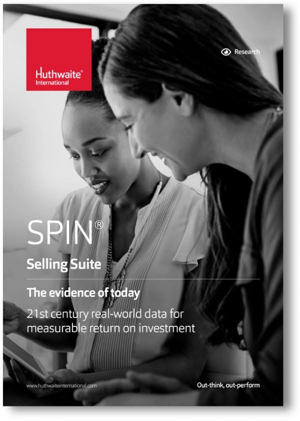 SPIN<sup>®</sup> Selling – A positive return on investment