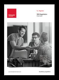 VBA Negotiation Brochure