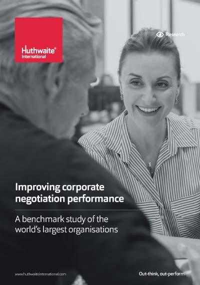 Improving Corporate Negotiation Performance