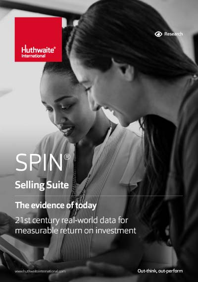 SPIN® Selling – Evidence of Return on Investment